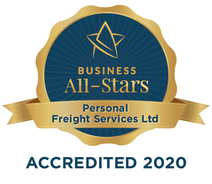 Personal Freight Services Ltd - Business All-Stars Accreditation