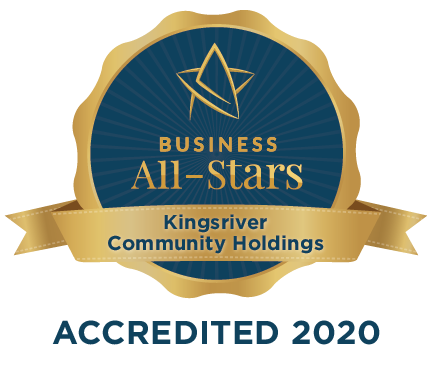 Kingsriver Community Holdings - Business All-Stars Accreditation
