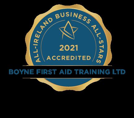 Boyne First Aid Training Ltd - Business All-Stars Accreditation