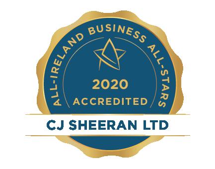 CJ Sheeran Ltd - Business All-Stars Accreditation