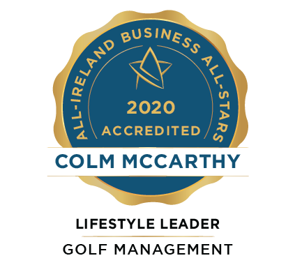 Colm McCarthy - Rathbane Golf Course - Business All-Stars Accreditation