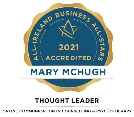 Mary McHugh - Irish Online Counselling and Psychotherapy Service Ltd - Business All-Stars Accreditation