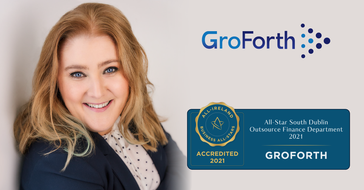 Sarah Daly, Founder at GroForth achieves a major Accreditation from the All-Ireland Business Foundation.