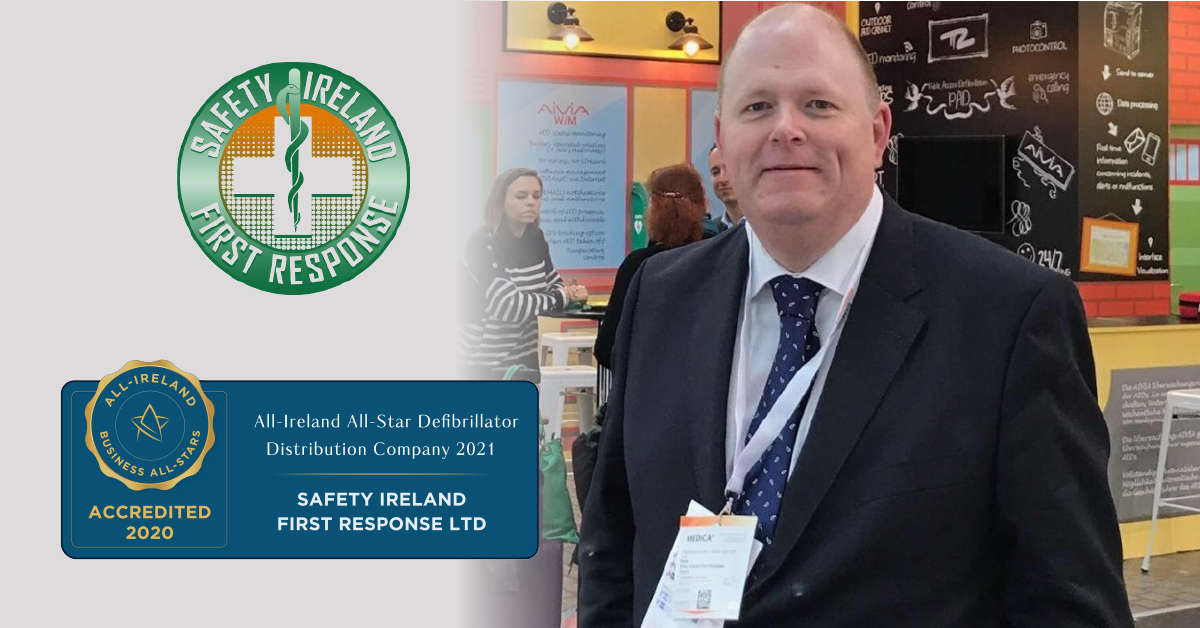 James Butler, Directory at Safety Ireland First Response achieves Business All-Star Accreditation.