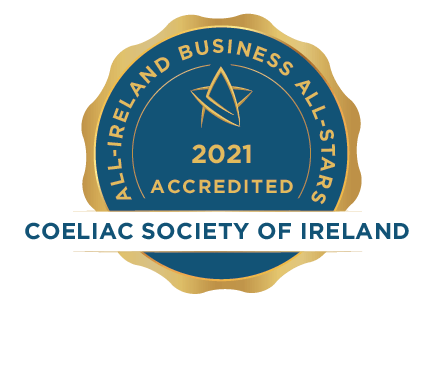 Coeliac Society of Ireland - Business All-Stars Accreditation