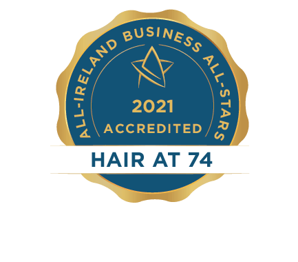 Hair at 74 - Business All-Stars Accreditation