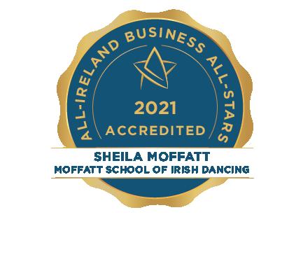 Moffatt School Of Irish Dancing - Business All-Stars Accreditation