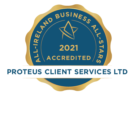 Proteus Client Services Ltd - Business All-Stars Accreditation