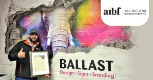 Ballast Design Signs Branding | AIBF