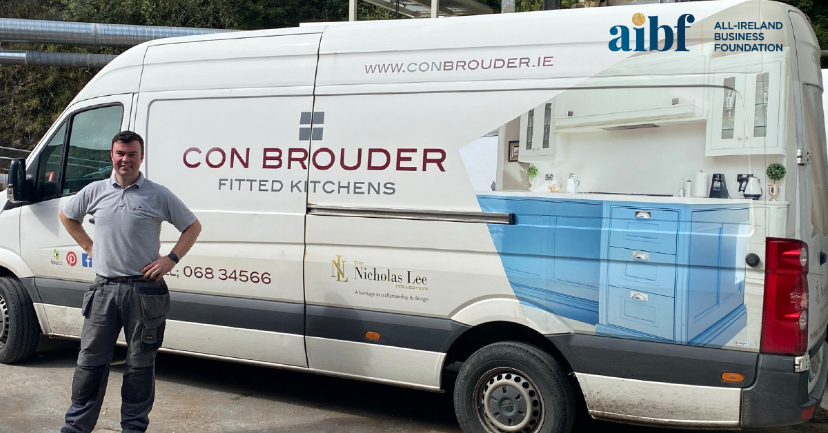 Neilus Brouder, Managing Director of Con Brouder Fitted Kitchens.