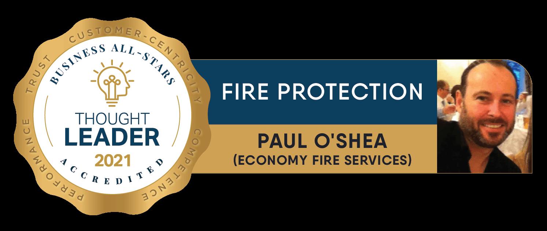 Paul O'Shea - Economy Fire Services - Business All-Stars Accreditation