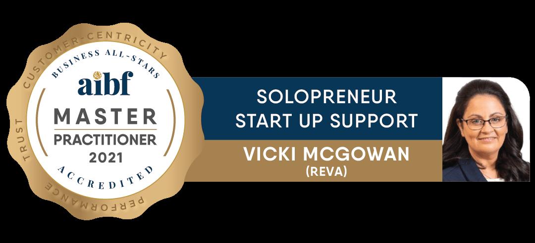 Vicki McGowan - REVA - Business All-Stars Accreditation
