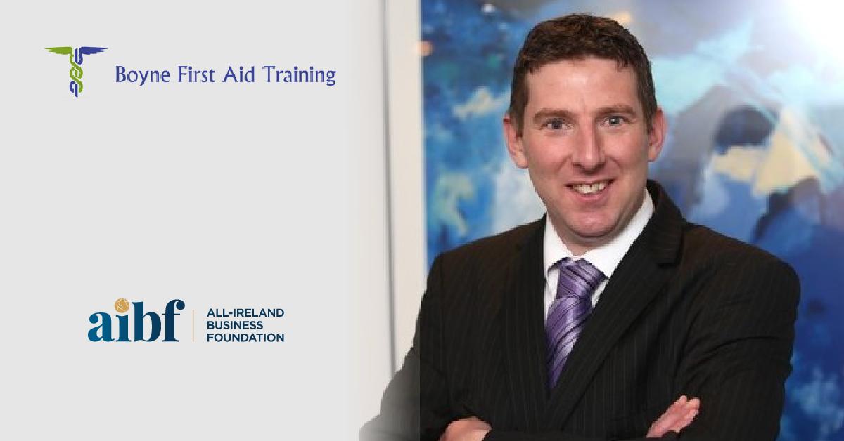 Chris Oliver, Owner of Boyne First Aid Training Ltd.