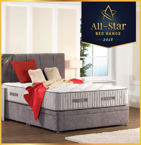 Briody Bedding All Star Bed Range Brand 2018 Business All Stars