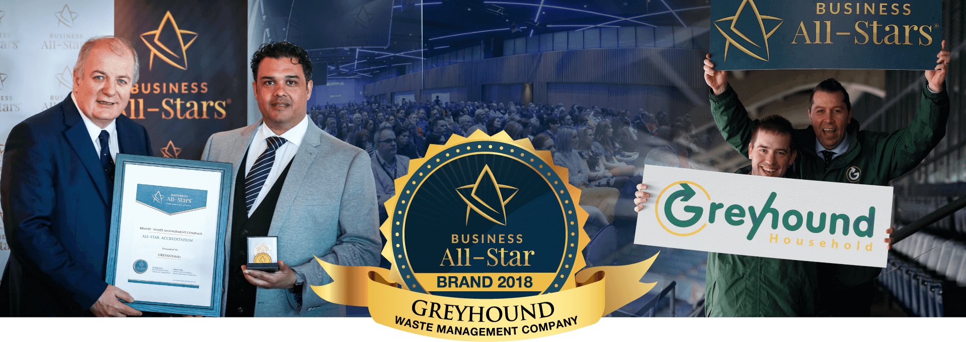 Business All - Stars Award, Croke Park Dublin