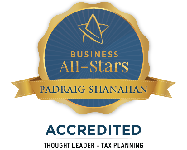Padraig Shanahan Chartered Tax Adviser - Business All-Stars Accreditation