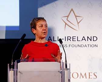 Dr. Briga Hynes at All Ireland Business Foundation