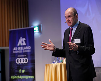 Ivan Yates at All Ireland Business Foundation