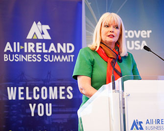 Mary Mitchell O'Connor at All Ireland Business Foundation