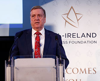 Pat Breen at All Ireland Business Foundation